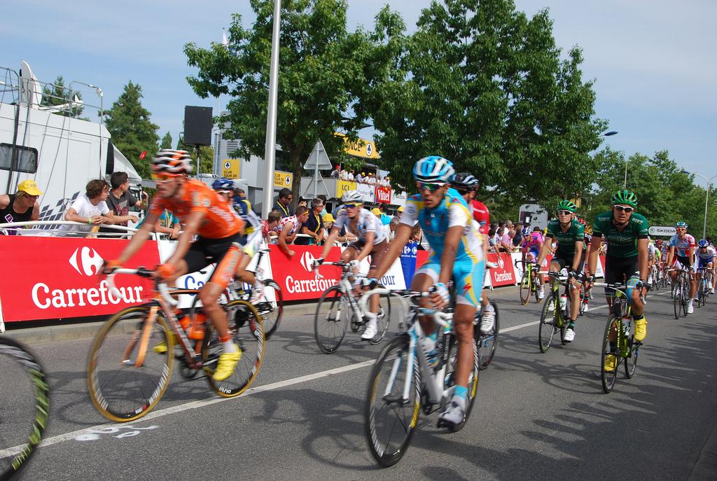 Arrivée du Tour de France à Redon